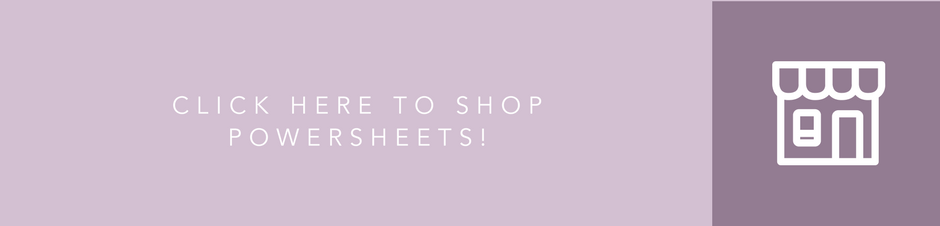 Shop Powersheets from the Cultivate What Matters shop