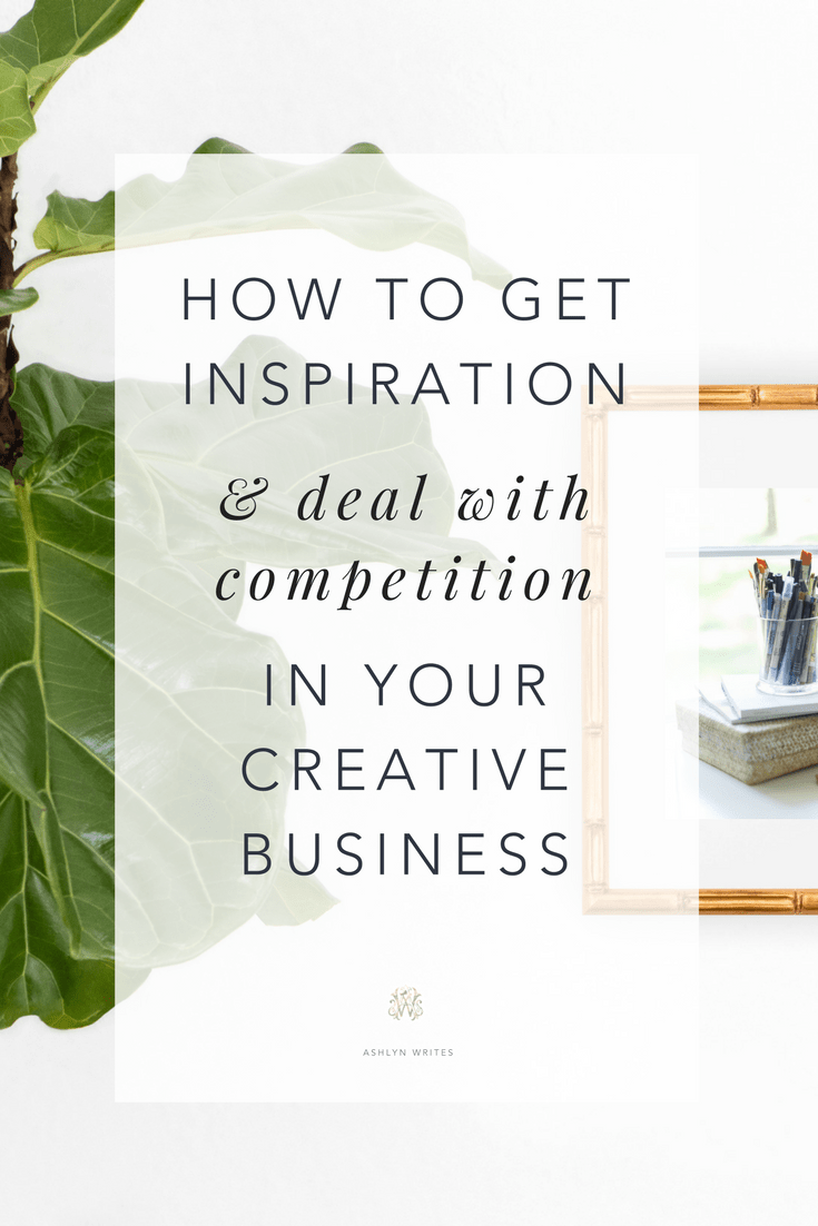 How to get inspiration sales copywriting tips from Ashlyn Writes Atlanta freelance copywriter
