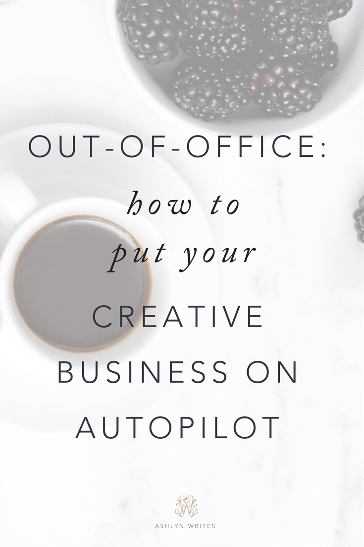 How to put your creative business on autopilot for creative entrepreneurs