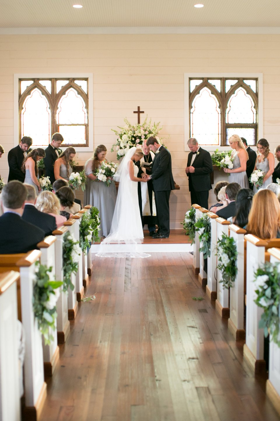 Classic southern wedding in oxford mississippi at Plein Air