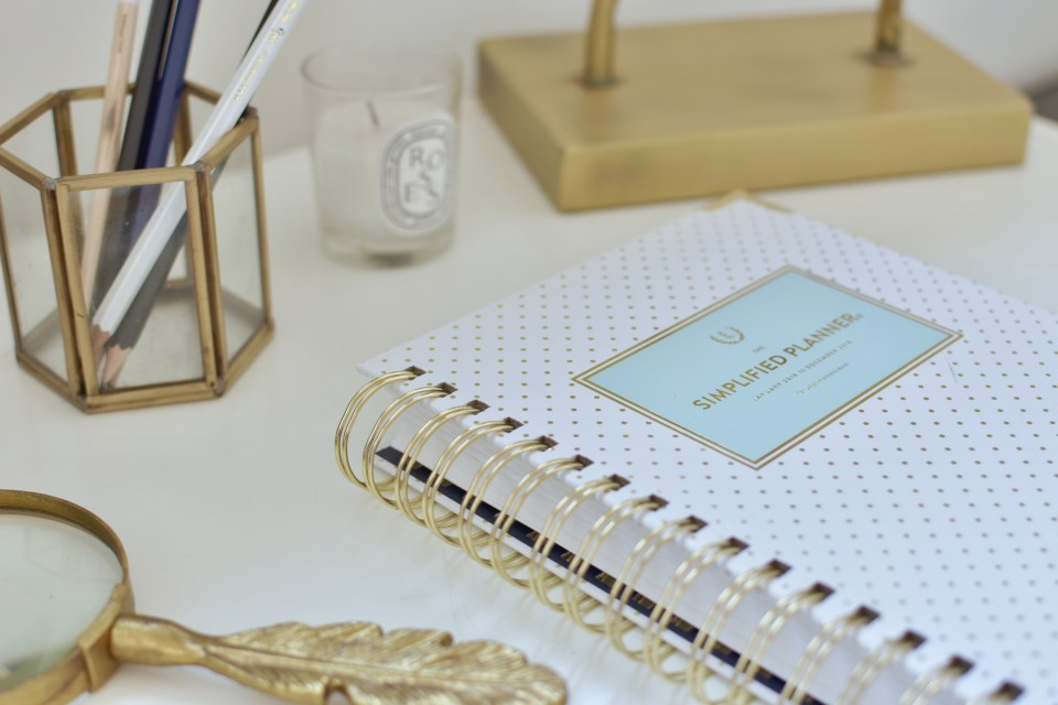 Emily Ley Simplified Planner review from Ashlyn Writes
