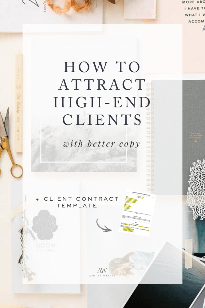 How To Attract High End Clients With Better Copy Messaging
