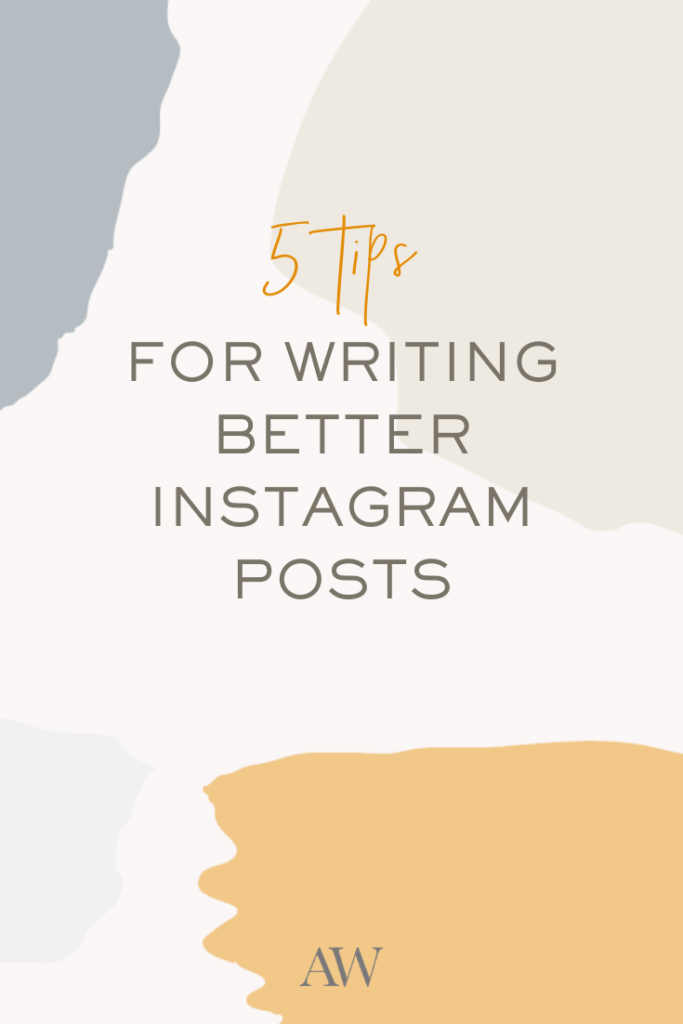 how to write instagram captions copywriting tips from Ashlyn Carter