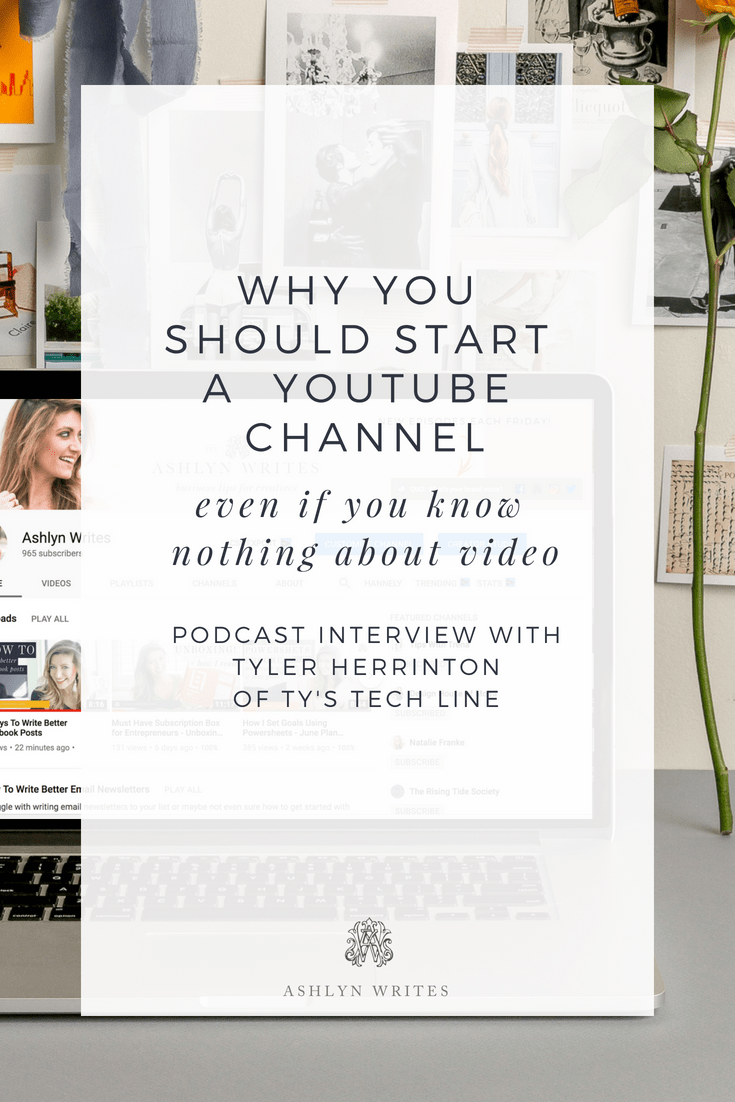 Ty's TechLine Podcast | Why You Should Start a YouTube Channel