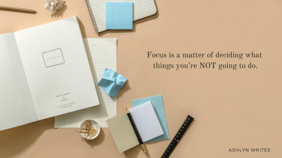 Ashlyn Writes quote productivity copywriting