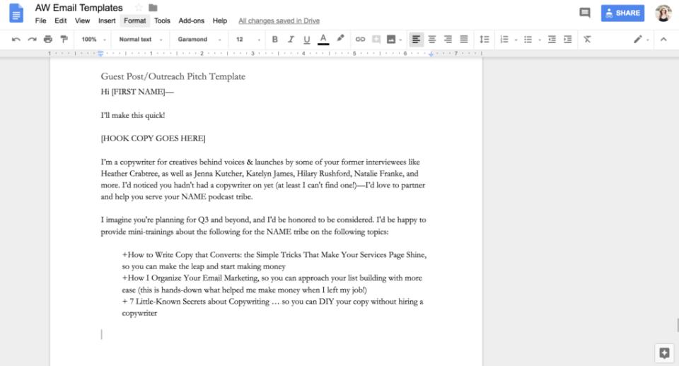Ashlyn Writes how to write a pitch creative copywriter tips