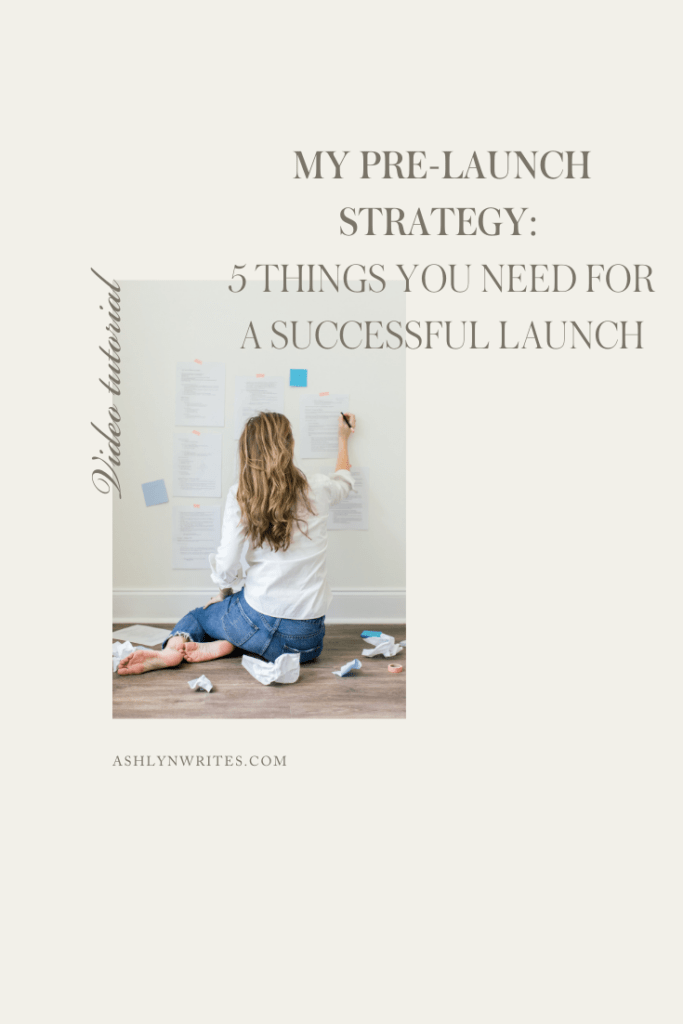 5 Things You Need for a Successful Launch | Ashlyn Writes