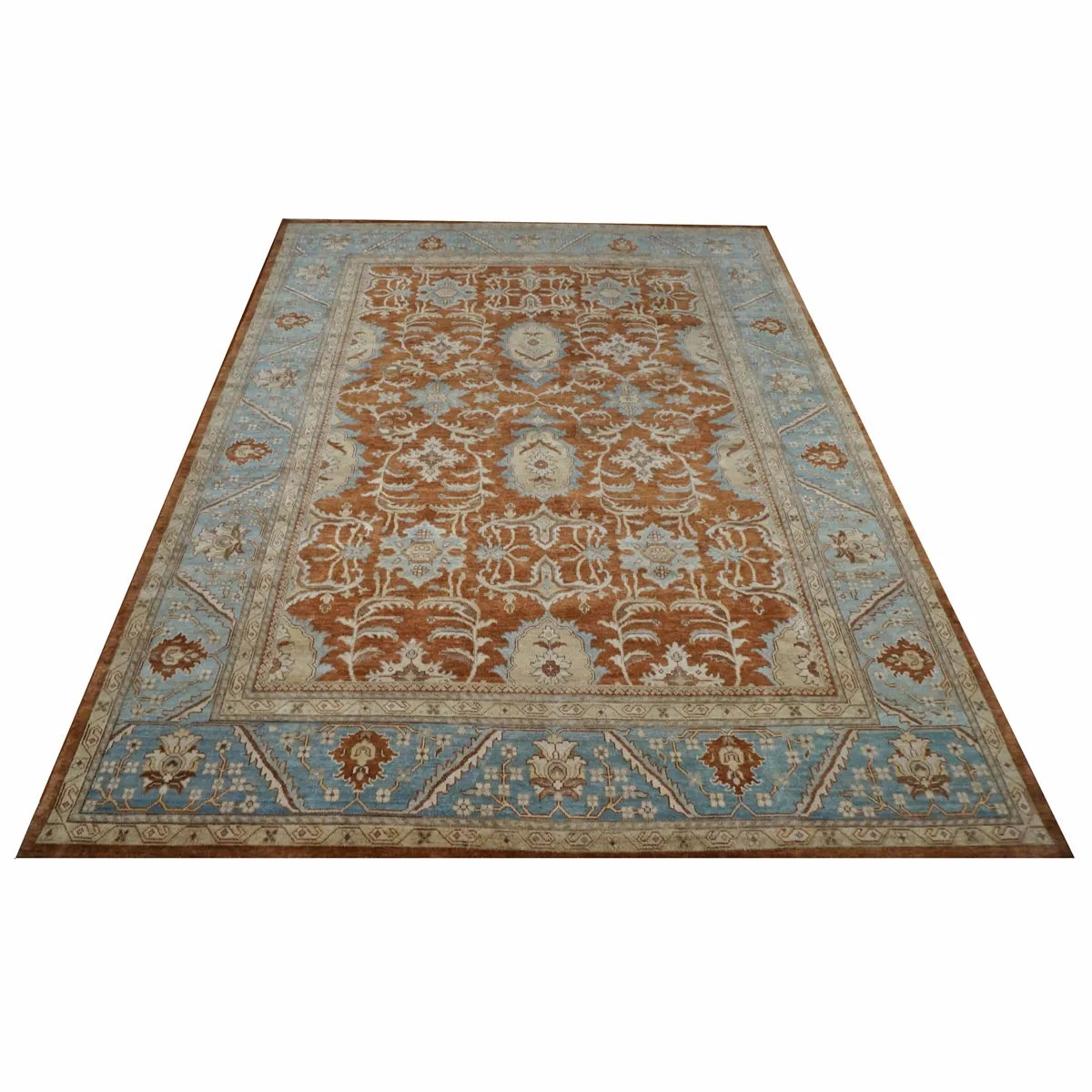 Area Rugs By Ashly Fine Rugs 9 X 12 Wool Sultanabad Rust