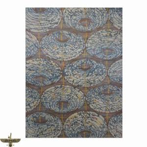 Area Rug: Modern wool and silk 9 x 12