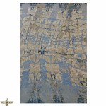Area Rugs Modern Contemporary Wool And Silk 6 X 9 Athena Collection