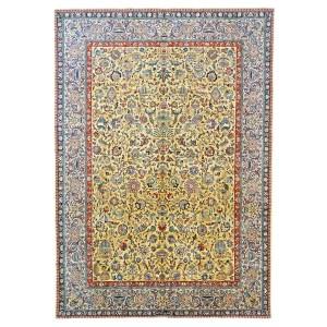 1143886 Tabriz 100% Wool Ivory
