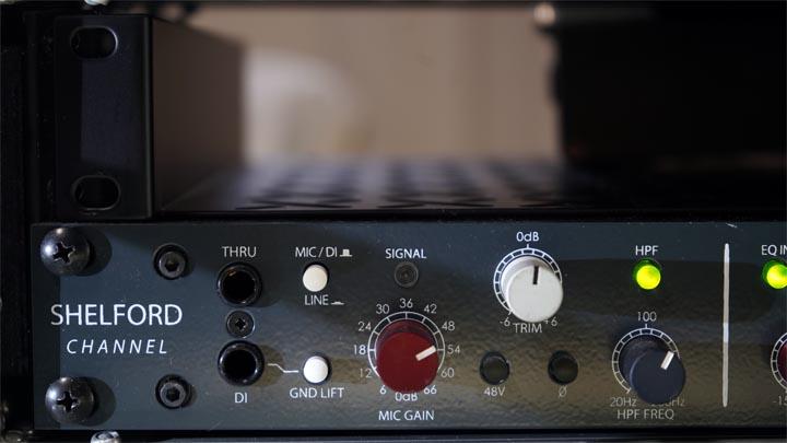 【DTM機器レビュー】Rupert Neve Designes-SHELFORD Channel