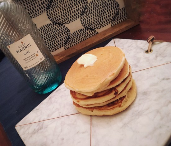How to make perfect fluffy pancakes.