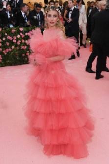 Emma Roberts in Giambattista Valli haute couture - Met Ball 2019