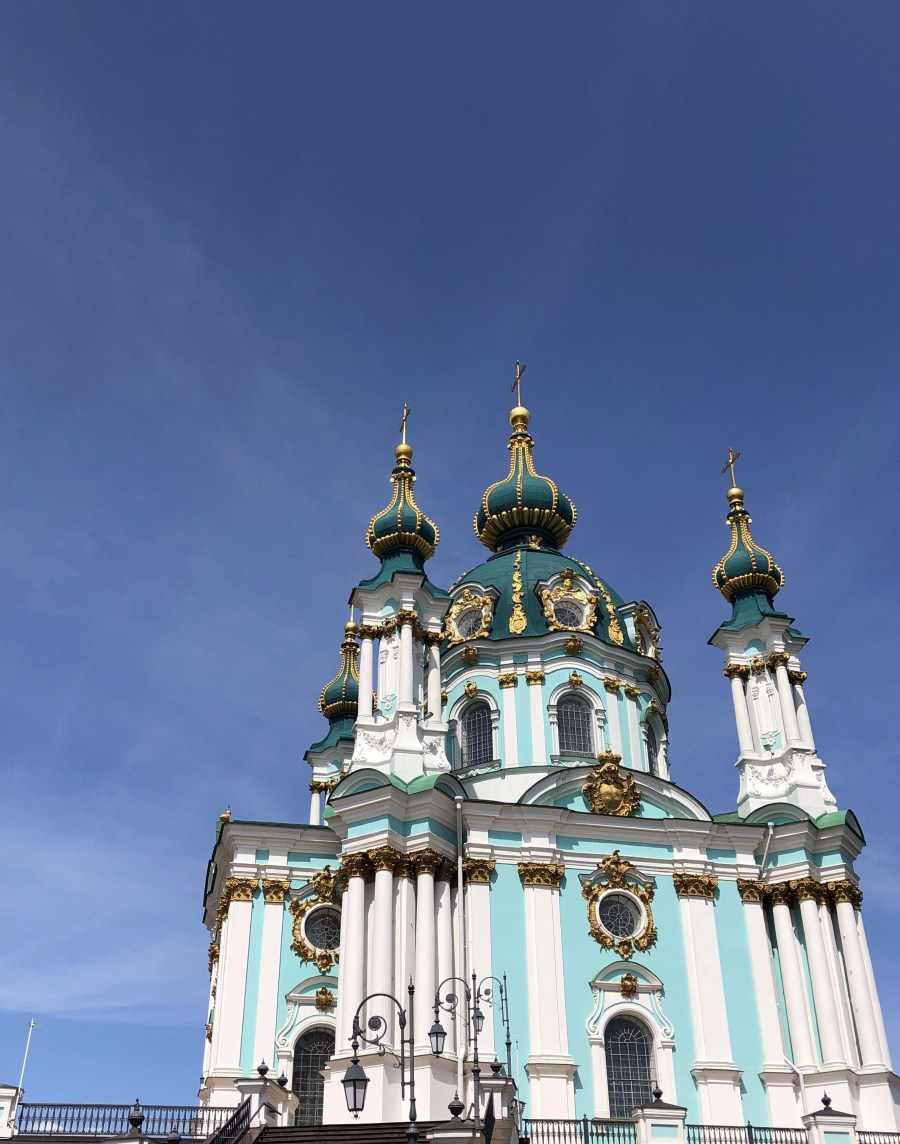 St Andrew's Church, Kyiv - The Ashmosphere
