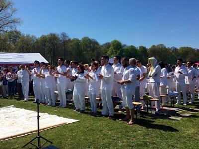 80 مسلمان از (ایران و افغانستان ) در آلمان به مسیحیت گرویدند+عکس