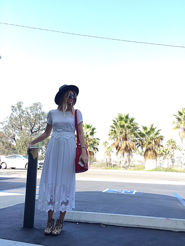 white midi dress 6