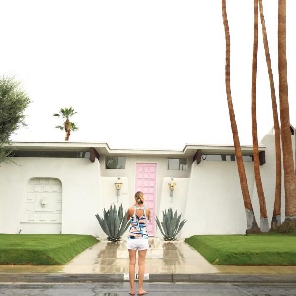 that pink door palm springs // ashnfashn