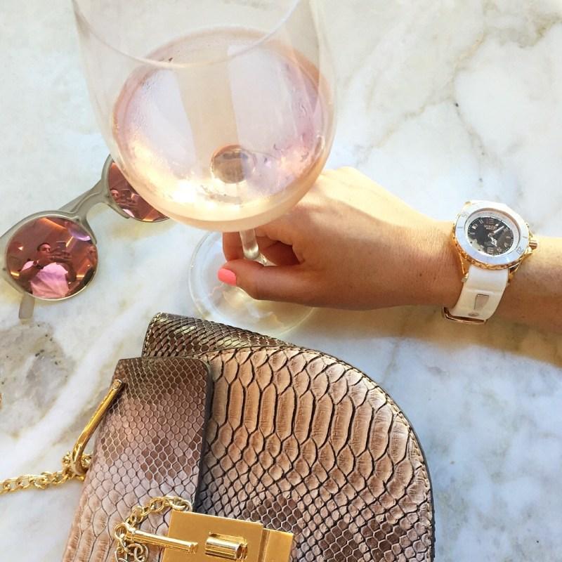 KYBOE! rose gold watch