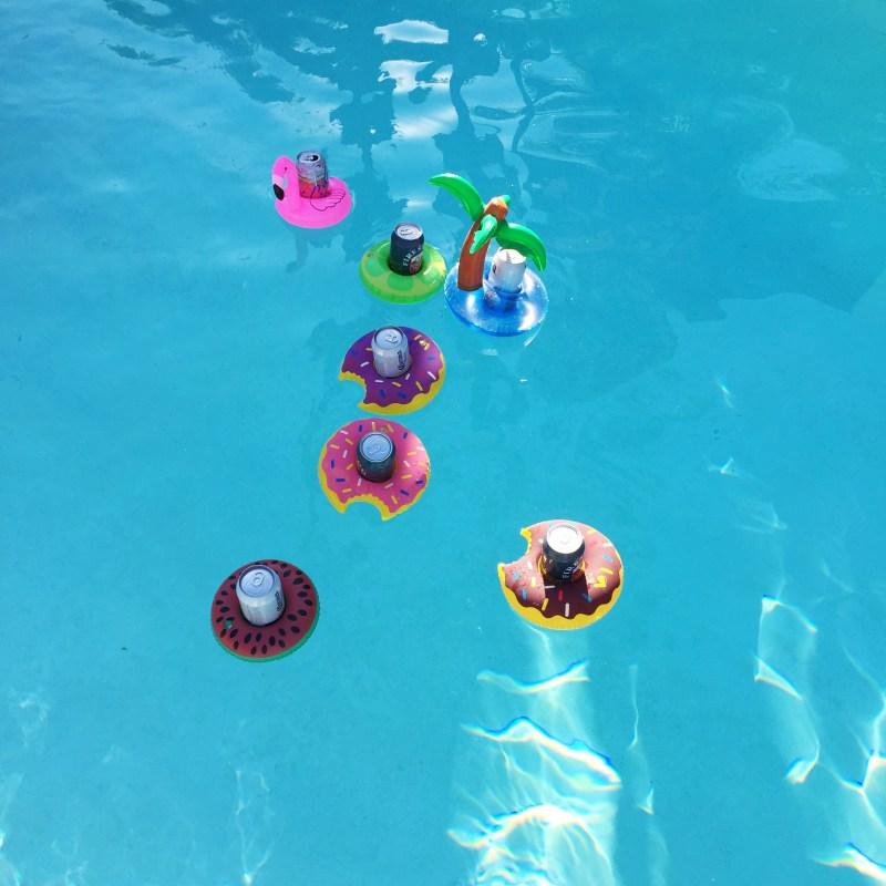 drink pool floaties