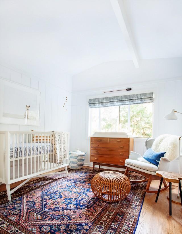 boho baby nursery