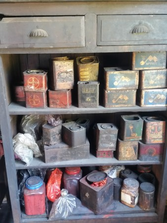 The dyeing room potions.
