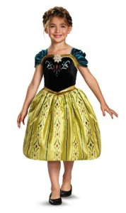 Frozen Costumes - Anna Coronation Day Kids Costume