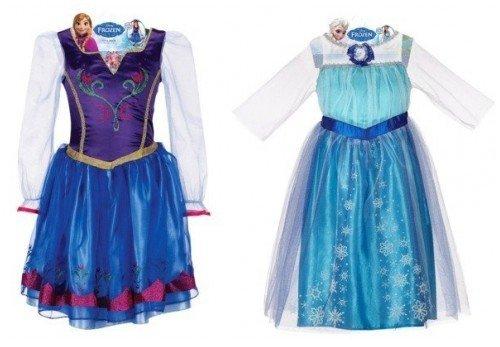 frozen costumes anna elsa