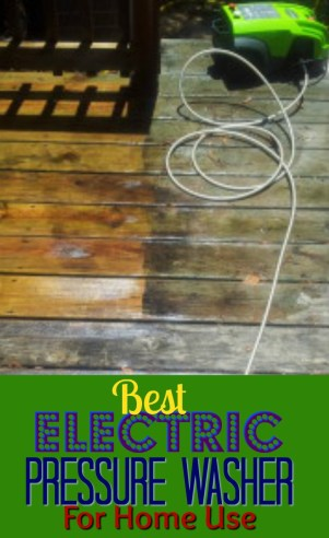 Best Electric Pressure Washer For Home Use