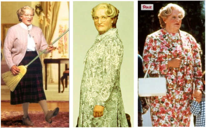 Mrs. Doubtfire Costume Ideas 2
