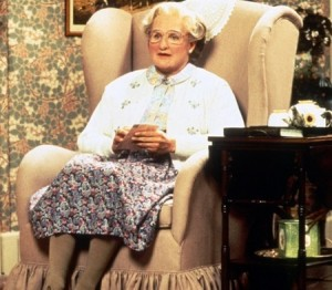 Mrs. Doubtfire Halloween Costume Ideas