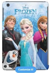 Frozen iPad - iPad Mini or iPhone cases
