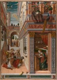 Cālo Criveli, Đ ANUNSIEŠN WĐ ST. IMIDỊS, 1486