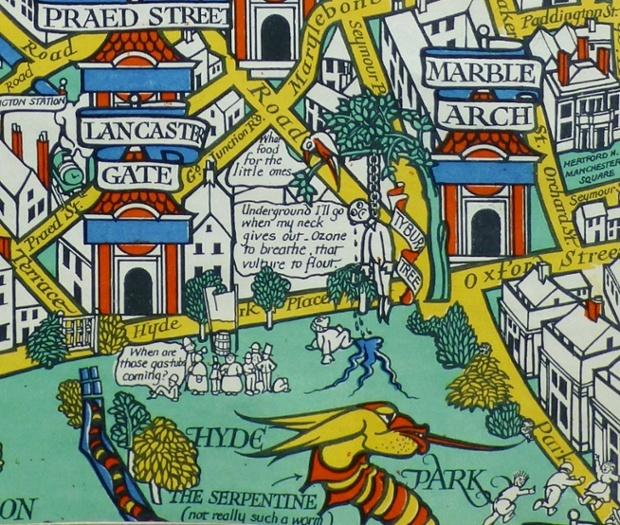 WUNDRGRÂND MAP (dītêl), 1914