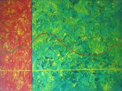 MOUNTAINS │ 2000 │ Acrylics on canvas