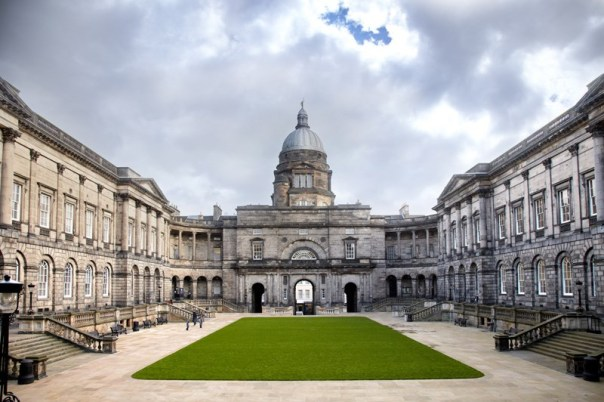 Talbot Rice, Edinburgh University