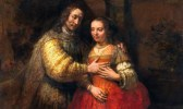 The Jewish Bride, oil on canvas (circa 1665-1669). Photograph: Alamy