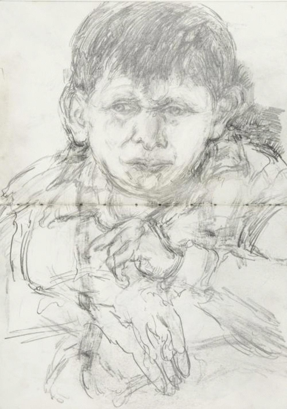 From L'Arche - Pencil on paper.