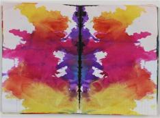 Untitled (Rorschach) (Ohne Titel (Rorschach)), c. 1999 Colored ink in bound notebook, 192 pages each: 11 5/8 x 8 1/16? (29.5 x 20.5 cm) Private Collection Photo: Alistair Overbruck