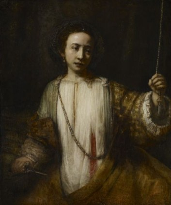 The Suicide of Lucretia, 1666, The Minneapolis Institute of Arts, Minnesota, oil on canvas, 109 x 93 cm
