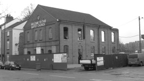 Lower Ford Street Baptist Church (during renovation) │ 2013