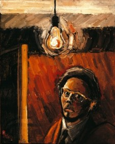 Anthony Green. Self-Portrait , 1960, oil on board, 76 x 60.5 cm 29 7/8 x 23 7/8 in