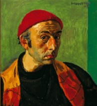 Alberto Morrocco. Self-Portrait , 1964, oil on canvas, 56 x 51 cm 22 1/8 x 20 1/8 in