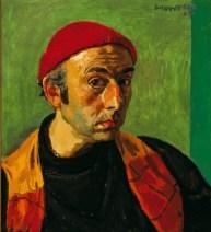 Alberto Morrocco. Self-Portrait , 1964, oil on canvas, 56 x 51 cm 22 1/8 x 20 1/8 in