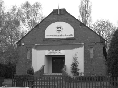 Coventry Restoration Assembly, Reformed Christian Church of God, Upper Spon Street. Building having changed hands │ 2014