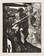 KENNINGTON, Eric Henri. Into the Trenches (1917)