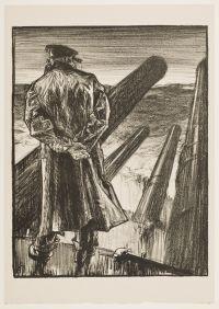BRANGWYN, Sir Frank William. The Look-out (1917)