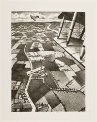 NEVINSON, Christopher Richard Wynne. In the air (1917)