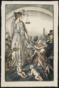 SULLIVAN, Edmund Joseph. The Reign of Justice (1917)