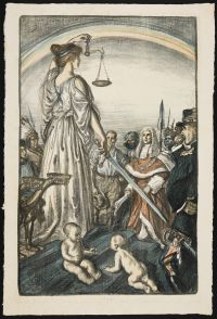SULLIVAN, Edmund Joseph. The Reign of Justice (1917)